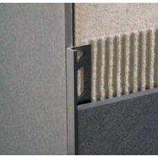 Profilis L-forma 11mm / juodas /