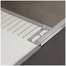 Profilis P-forma h12,5mm / poliruoto ner. plieno /