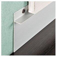 Anoduoto aliuminio grindjuostė 60mm aukščio