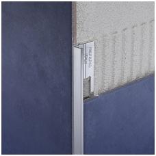 Profilis L-forma h12,5mm / anoduotas aliuminis /