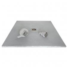 Dušo padas 90x90x4cm su įmontuotu Sanit sifonu