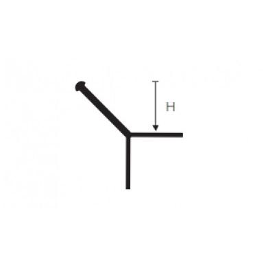 Profilis Y-forma h10mm