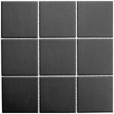Mozaika Architektur Uni Black 10x10
