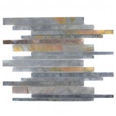Mozaika Stabchen Schiefer Rustik