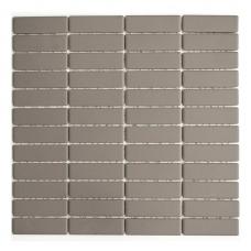 Mozaika Stick Uni Grey 22x73mm