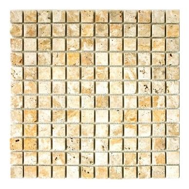 Mozaika Travertine Gold Antique 23x23