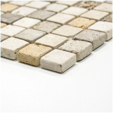 Mozaika Travertine Mix Antique 23x23