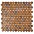 Mozaika Knopf Copper d23mm