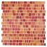 Mozaika Kombination Crystal Edge Red