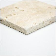 Natūralus akmuo Travertine Chiaro 10x10