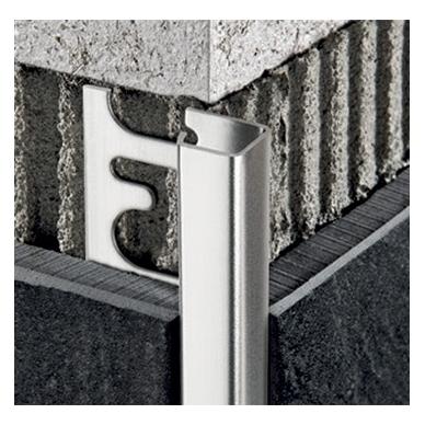 Profilis P-forma h8mm / nerūdijančio plieno /