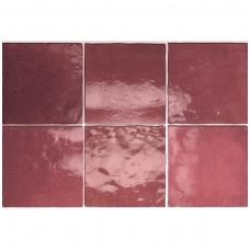 Plytelės Artisan Burgundy 13,2x13,2cm