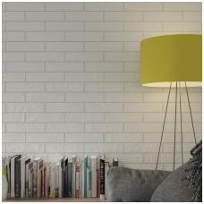 Plytelės Brick White 6x24,6cm