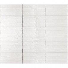 Plytelės Solid Bianco Matt 6,1x37
