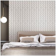 Plytelės Fuggo_01 White 10x60