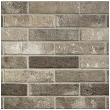 Plytelės London Brown Brick 6x25cm
