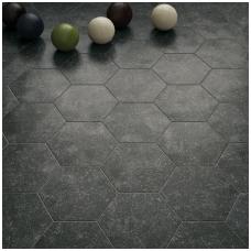 Plytelės Coralstone Hexagon Black 29,2x25,4