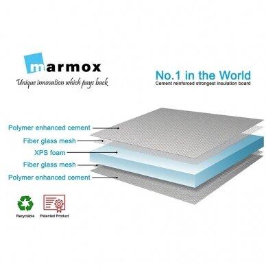 Armuoto ekstruzinio polistireno plokštė Marmox Board 20x600x2500mm 4