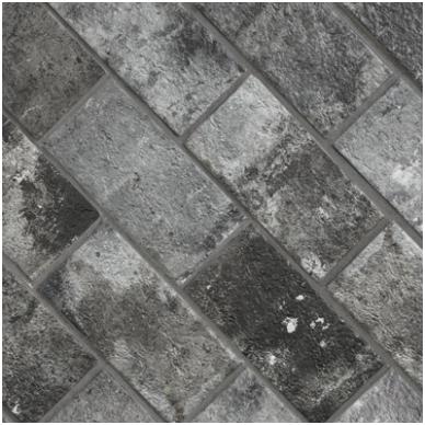 Plytelės London Charcoal 13x25cm