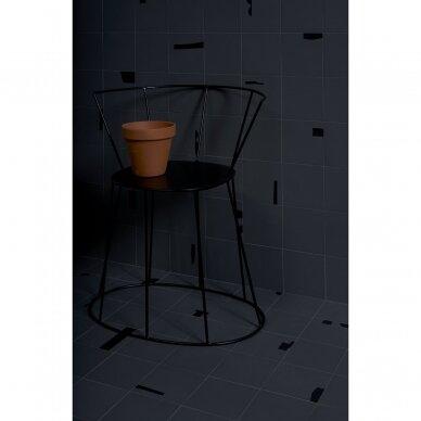 Plytelės Pack Graphite Black 15x15