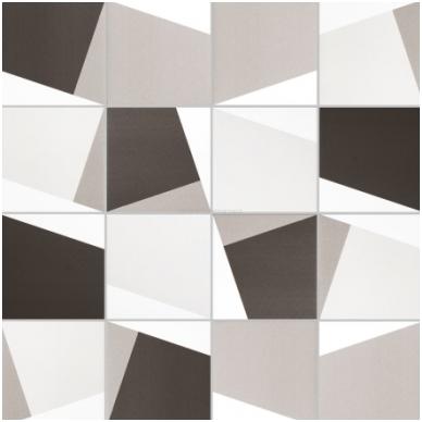 Plytelės Patchwork Origami Noir 20x20