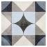 Plytelės Art Nouveau Palais Blue 20x20