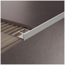 Profilis laiptams SNG / anoduotas aliuminis /