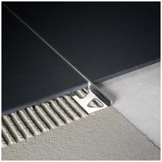 Profilis L-forma h8mm / poliruotas nerūdijantis plienas /