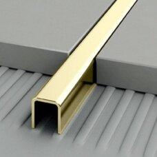 Profilis Projoint h10mm / poliruotas žalvaris /