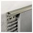 Profilis P-forma h10mm / anuoduotas titan spalva /